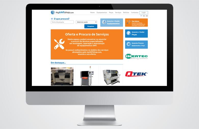 Website My SMT Shop