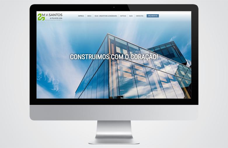 Website MV Santos