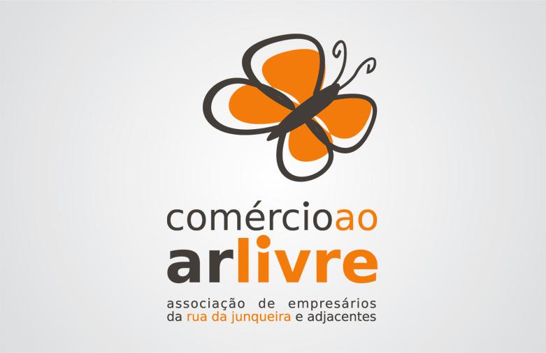 Logotipo Comércio ao Ar Livre
