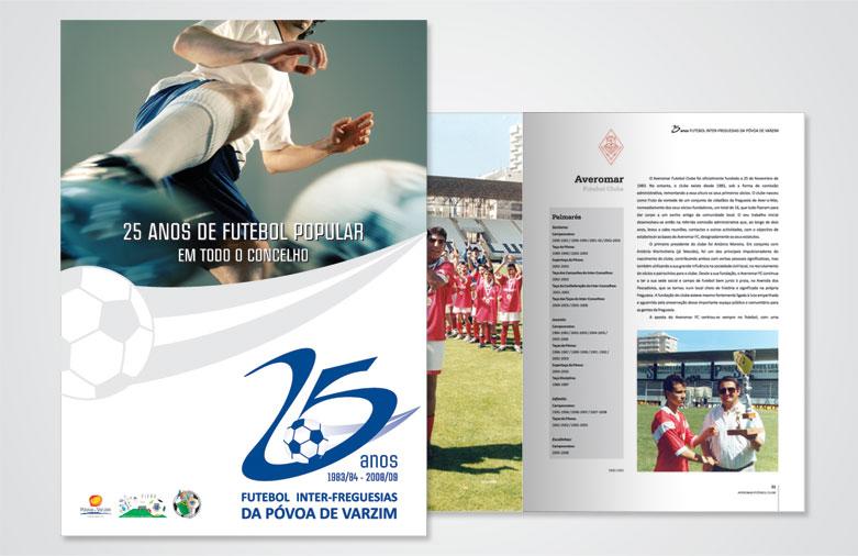 Livro 25 Anos Associação Futebol Póvoa de Varzim
