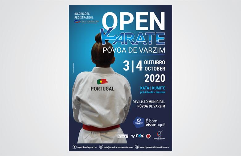 Cartazes Open Karate Póvoa de Varzim