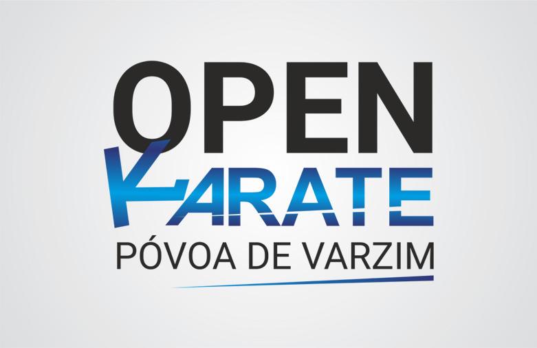 Logotipo Open Karate Póvoa de Varzim