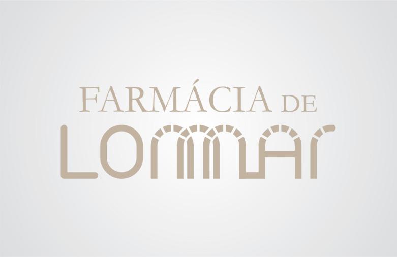 Logotipo Farmácia de Lomar