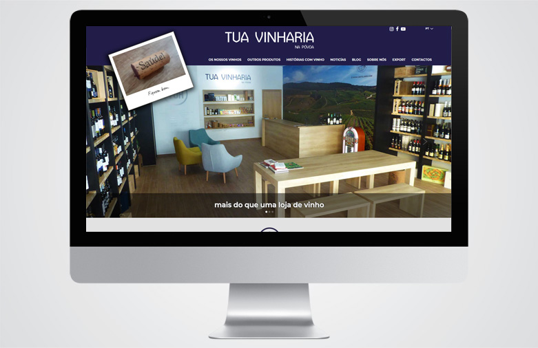 Website Tua Vinharia