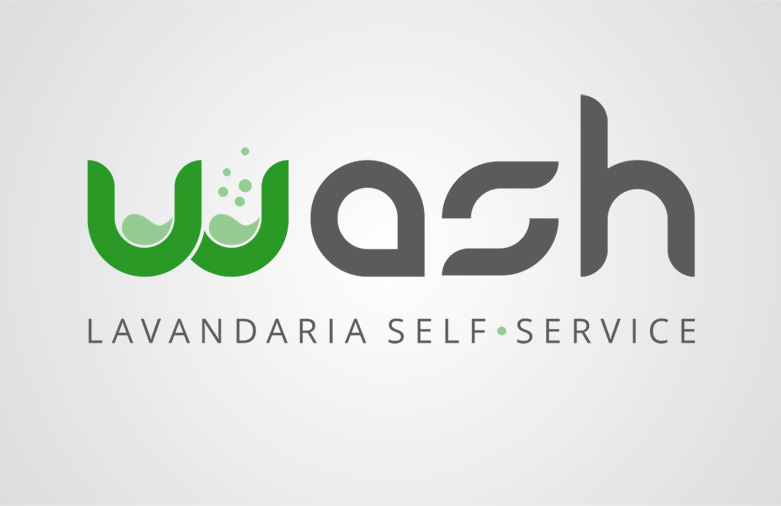 Logotipo Wash