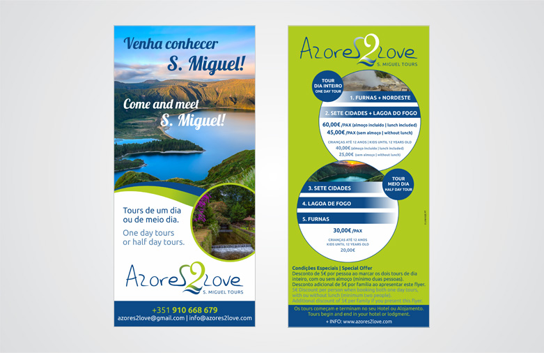 Flyer Azores 2 Love