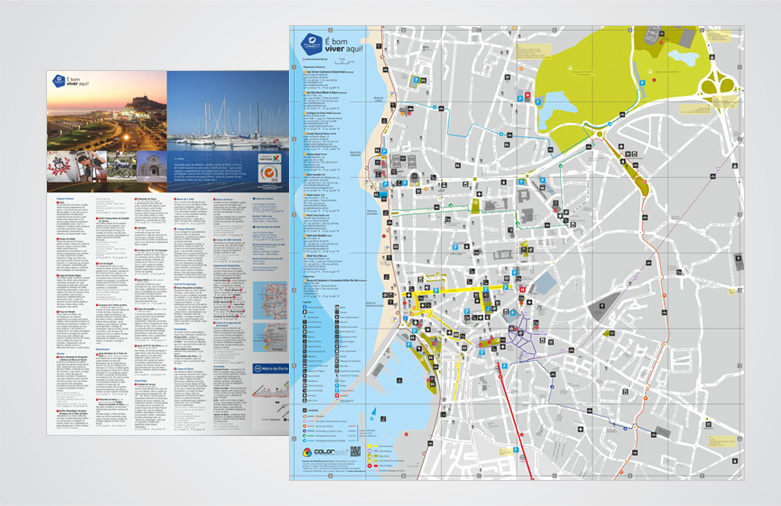 Mapa Turístico da Póvoa de Varzim