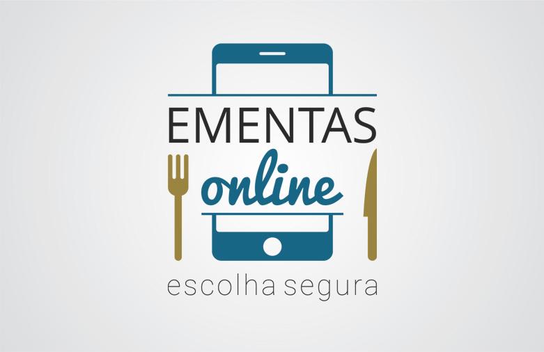 Logotipo Ementas Online