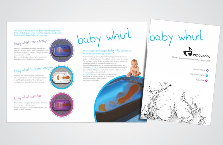 Folheto Baby Whirl