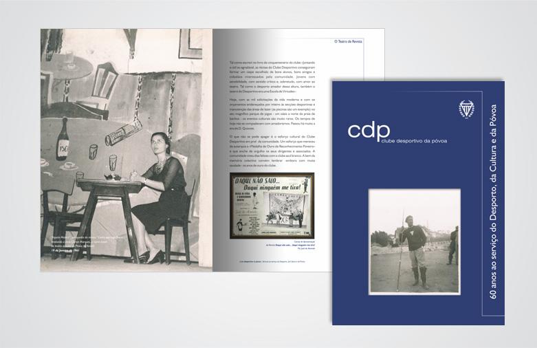 Livro Comemorativo dos 60 anos do Clube Desportivo da Póvoa