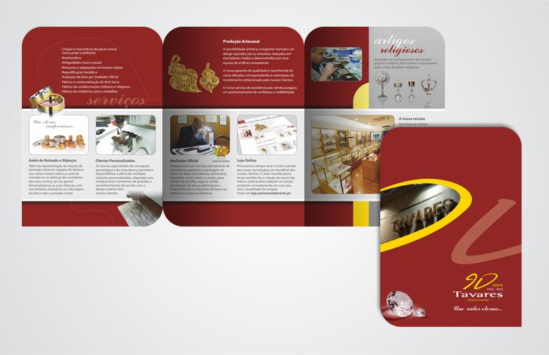 Brochura Ourivesaria Tavares